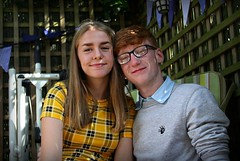 Canon EOS 60D - Portrait - Faith & Harry (Gareth Wonfor (TempusVolat)) Tags: picmonkey garethwonfor tempusvolat mrmorodo gareth wonfor tempus volat kids portrait smiles faith harry couple friends young youngsters youth youths redhead family