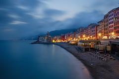 Camogli (bluestardrop - Andrea Mucelli) Tags: liguria camogli italia italy mare sea crepuscolo twilight lungaesposizione longexposure