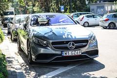 Poland Indiv. (Mazowieckie) - Mercedes-Benz S 63 AMG Coupé C217 (PrincepsLS) Tags: poland polish individual license plate w mazowieckie mercedesbenz s 63 amg coupé c217