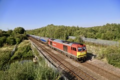 60063 Beighton River Rother 26 Aug 19 (doughnut14) Tags: 60063 rail freight diesel loco 6m00 cum beighton rother oldroad midland humber kingsbury vtg tanks tea tig class60 db