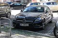Poland Indiv. (Mazowieckie) - Mercedes-Benz CLS-Class C218 (PrincepsLS) Tags: poland polish individual license plate w mazowieckie smok8 warsaw mercedesbenz clsclass c218