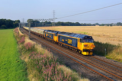 50049 + 50007 Daresbury 26th August 2019 (John Eyres) Tags: 50049 50007 pass daresbury with return pathfinders cotswold eden 1z52 1550 appleby didcot parkway 260819