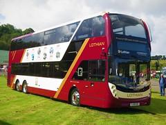 Lothian Buses 1125 (SJ19OZD) - 17-08-19 (peter_b2008) Tags: lothianbuses lothiancity edinburgh volvo b8l alexanderdennis adl enviro400lxb 1125 sj19ozd triaxle buses coaches transport buspictures