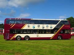 Lothian Buses 1125 (SJ19OZD) - 17-08-19 (02) (peter_b2008) Tags: lothianbuses lothiancity edinburgh volvo b8l alexanderdennis adl enviro400lxb 1125 sj19ozd triaxle buses coaches transport buspictures