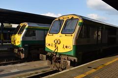25/08/19 (NirateGoel) Tags: dublin heuston iarnród éireann iarnródéireann irish rail irishrail 215 221 class201 intercity