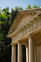 Kew-Gardens-E-W-146-0036 (laurencemackman) Tags: kewgardens kew richmond london garden historicroyalpalaces nikond610 kingwilliamstemple king williams temple mediterraneangarden sirjeffrywyatville queenvictoria williamiv 1830s classic neoclassicism stone portico イギリス、ロンドン,公園、ニコン、d60 nikon キュー ガーデンス キューガーデンス 庭 ニコン d60 d610