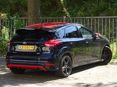 """2016 Ford Focus """"Black Edition"""" (harry_nl) Tags: netherlands nederland 2019 deventer ford focus blackedition kb080n sidecode9"""
