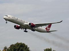 G-VLUX (ianossy) Tags: glasgow airbus a3501000 virgin atlantic vir gla egpf gvlux