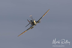 SPITFIRE! (mark_rutley) Tags: aircraft airshow aviation aviationphotographer bedfordshire flyingproms markrutleyphotography oldwarden proms shuttleworth theshuttleworthcollection spitfire