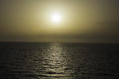 Sunset (Tobias Willmann) Tags: seascape nature water outside agua nikon meer wasser outdoor natur himmel mallorca sonne sonnenaufgang horizont cala spanien agulla morgengrauen ratjada d3200