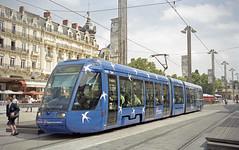 2002-06-04 Montpellier Tramway Nr.2009 (beranekp) Tags: france frankreich montpellier tram tramvaj tramway tranvia strassenbahn šalina elektrika električka 2009