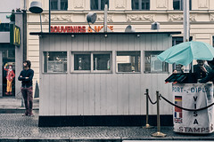 Tired and Bored (Jontsu) Tags: people check point charlie checkpointcharlie street streetphotography fuji fujifilm xt3 35mm berlin germany deutschland