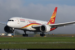Hainan B788 B2728 (Sandsman83) Tags: aircraft airplane plane hainan airlines boeing 787 dreamliner b2728 landing zurich zrh lszh