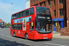 YX68 UOL (ADH45291) RATP Group London Sovereign (hotspur_star) Tags: londontransport londonbuses londonbus londonbuses2019 alexanderdennisltd enviro400hmmc tfl transportforlondon hybridbus hybridtechnology busscene2019 doubledeck ratpgroup londonsovereign yx68uol adh45291 h14