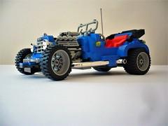 5541 Blue Fury (Fabio Molinaro) Tags: lego model team 10252 volkswagen beetle 5541 blue fury