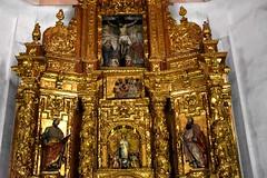 Church altar (thomasgorman1) Tags: gold nikon church altar ornate valencia interior iglesia spanish spain parish temple artwork