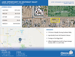 "FOR SALE: Southeast Valley Land | 3.8 acres • <a style=""font-size:0.8em;"" href=""http://www.flickr.com/photos/63586875@N03/48626781651/"" target=""_blank"">View on Flickr</a>"
