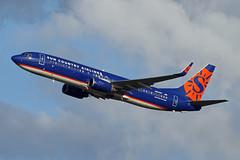 B737-8.N824SY (Airliners) Tags: suncountry suncountryairlines 737 b737 b7378 b737800 b73785p b737ng boeing boeing737 boeing737800 boeing73785p iad n824sy 82519