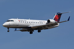 Delta Connection (SkyWest Airlines) - Bombardier (Canadair) CRJ-200ER (CL-600-2B19) - N927EV - Baltimore-Washington International Airport (BWI) - April 6, 2019 595 RT CRP (TVL1970) Tags: nikon nikond7200 d7200 nikongp1 gp1 geotagged nikkor70300mmvr 70300mmvr aviation airplane aircraft airlines airliners baltimorewashingtoninternationalairport baltimorewashingtoninternational bwiairport bwi kbwi thomasadixonaircraftobservationpark dixonaircraftobservationpark aircraftobservationpark friendshippark dixonpark n927ev deltaconnection delta skywestairlines skywest endeavorair expressjetairlines expressjet atlanticsoutheastairlines asa bombardieraerospace bombardier bombardiercrj200 bombardiercrj200er bombardiercrj canadair challenger cl600 cl6002b19 crj crj200 crj200er regionaljet generalelectric ge cf34 cf343b1