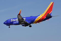 Southwest Airlines (SWA) - Boeing 737-700 - N443WN - The Spirit of Hope (Ronald McDonald House Charities) - Baltimore-Washington International Airport (BWI) - April 6, 2019 516 RT CRP (TVL1970) Tags: nikon nikond7200 d7200 nikongp1 gp1 geotagged nikkor70300mmvr 70300mmvr aviation airplane aircraft airlines airliners baltimorewashingtoninternationalairport baltimorewashingtoninternational bwiairport bwi kbwi thomasadixonaircraftobservationpark dixonaircraftobservationpark aircraftobservationpark friendshippark dixonpark n443wn southwestairlines southwest swa thespiritofhope spiritofhope ronaldmcdonaldhousecharities speciallivery boeing boeing737 boeing737700 b737 b737ng 737ng 737 737700 737700wl boeing7377h4 7377h4 7377h4wl aviationpartners winglets cfminternational cfmi cfm56 cfm567b24
