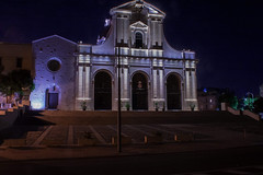 Bonaria (cardiariccardo94) Tags: canon sky lights town city sardegna night bonaria cagliari