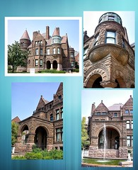 SAMUEL CUPPLES HOUSE ~ St Louis Mo ~ Tour and Art Gallery ~  Historic Mansion (Onasill ~ Bill Badzo) Tags: cupples samuel house mansion castle historic nrhp onasill romanesque richersonian style architecture brown stone st louis mo travel historical museum outdoor building photo border manor brotherhood railroad art tours university midtown saint brownstone