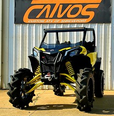 Maverick Sport XMR CATVOS plus 2 front and plus 2 rear portal proof control arms www.CATVOS.net (CATVOS) Tags: catvos canam x3 customatv utv lift maverick polaris rzr ranger bkt tires