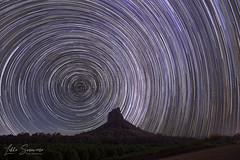 Startrails over Mt Coonowrin- My dream has come true. (Lekha Suraweera) Tags: milkyway startrails nightsky nature glasshousemountains mountcoonowrin sunshinecoast queensland australia