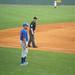 Baseball Under Rain