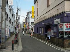 Yokohama sexy zone (kasa51) Tags: soapland redlightdistrict narrowstreet streetscape sign yokohama japan ソープ街 people street 特殊浴場