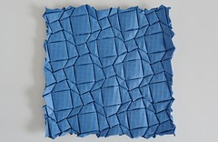 Quadrilaterals Flagstone Tessellation (Byriah Loper) (Byriah Loper) Tags: origami paperfolding paper polygon tessellation flagstone byriahloper geometric grid