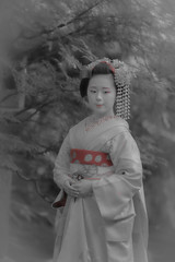 Maiko_20190526_121_6 (Maiko & Geiko) Tags: 20190526 eishoin temple kanohisa kyoto maiko 舞妓 栄摂院 叶久 京都 叶家 kanoya ksumika
