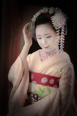 Maiko_20190526_121_17 (Maiko & Geiko) Tags: 20190526 eishoin temple kanohisa kyoto maiko 舞妓 栄摂院 叶久 京都 叶家 kanoya ksumika