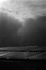 14 (mati.a) Tags: cielo sky heaven nubes clouds analog light 35mm film chile bw ilford hp5 ilfordhp5 nikon fm2 nikonfm2