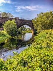 Bridge over troubled waters (erikodinson66) Tags: architecture arches railwaybridge canterbury riverstour