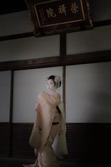 Maiko_20190526_121_2 (Maiko & Geiko) Tags: 20190526 eishoin temple kanohisa kyoto maiko 舞妓 栄摂院 叶久 京都 叶家 kanoya ksumika