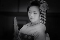 Maiko_20190526_121_22 (Maiko & Geiko) Tags: 20190526 eishoin temple kanohisa kyoto maiko 舞妓 栄摂院 叶久 京都 叶家 kanoya ksumika