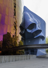 Alien Attack (brentus69) Tags: seattle washington usa unitedstatesofamerica mopop museumofpopculture angles colors sony a6500 sonya6500 frankgehry