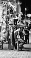 Esperando al cliente (Classicpixel (Eric Galton) Photography Portfolio) Tags: magasin store blackandwhite bw noiretblanc tienda cliente recuerdos enblancoynegro nb playadelcarmen mexico mexique assis sitted mexicain ericgalton classicpixel olympus em5mkii boutique vendeur attente attendre tapis bibelots objets rue ruelle trottoir vendedor espera alfombra baratijas objetos calle callejón acera shop salesman waiting wait carpet trinkets objects street alley sidewalk