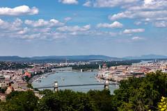Budapest (Newy Australia) Tags: europe scenic rivercruise 2019 europeanholiday budapest hill gellert canon 6dmkii landscape