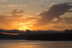 Fog belt sunset (Lisa Roeder) Tags: shell sunset