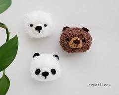 SS19 bears (mochillery) Tags: amigurumi crochet plushies cute handmade mochillery bear fuzzy