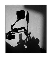 shadow & silhouette ensemble (Armin Fuchs) Tags: arminfuchs lavillelaplusdangereuse bike 6x7 wall light shadows silhouette