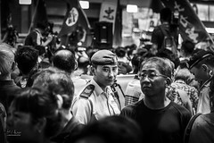 Hong Kong (Ed Kruger) Tags: allrightsreserved asia asiancities asiancountries cultureofasia edkruger flag millakruger peopleofasia photosofasia southeastasia abaconda blue china chinese city cityscene cityscape copyrights democracy demostration editorial evening force hongkong kirillkruger mongkok night officer people police protest protesters protestors qfse reportage rodkruger sightseeing signs street travel travelphotography kowloon happyplanet asiafavorites