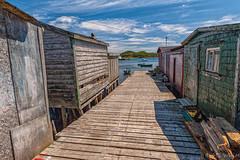 A postcard from the East #2 (Picture-Perfect Pixels) Tags: boats newfoundland ramea fishingvillage outport shacks wharf flickrexploreaugust272019