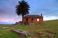 Cold Sunset (Darren Schiller) Tags: australia abandoned architecture building clouds derelict disused decaying deserted dilapidated dusk empty eudunda facade farming farmhouse galvanisediron history heritage house country cottage midnorthsouthaustralia old rural rustic rusty ruin palm smalltown southaustralia sunset tin tree