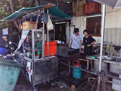 Young Chef (-Faisal Aljunied - !!) Tags: faisalaljunied streetphotography chef penang malaysia ricohgr2 wok eyecontact frying