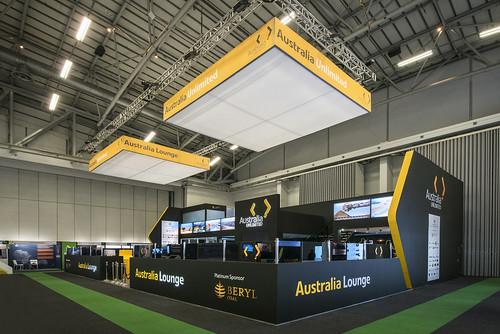 Australian Trade Commissions Pavilion