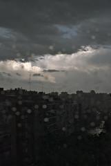 Gota fría (juan jose aparicio) Tags: lluvia rain reflect reflejo nigt noche ciudad urban urbanscape city tormenta storm