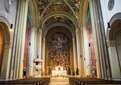 St. Ludwig (werner boehm *) Tags: wernerboehm stludwig munich architecture altar innenaufnahme